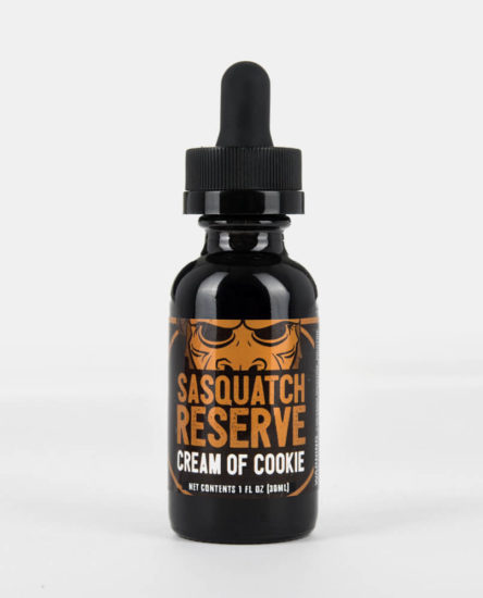 Sasquatch Reserve Cream of Cookie Dessert Premium Eliquid