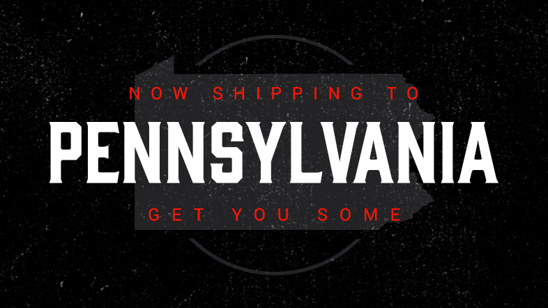 Shipping eliquid to Pennsylvania