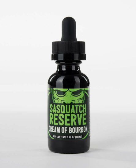 Sasquatch Reserve Cream of Bourbon Premium Eliquid