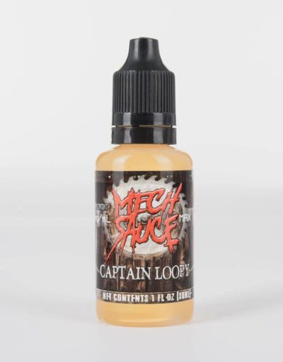 Captain Loopy - premium fruit hoops flavored e-juice by Mech Sauce