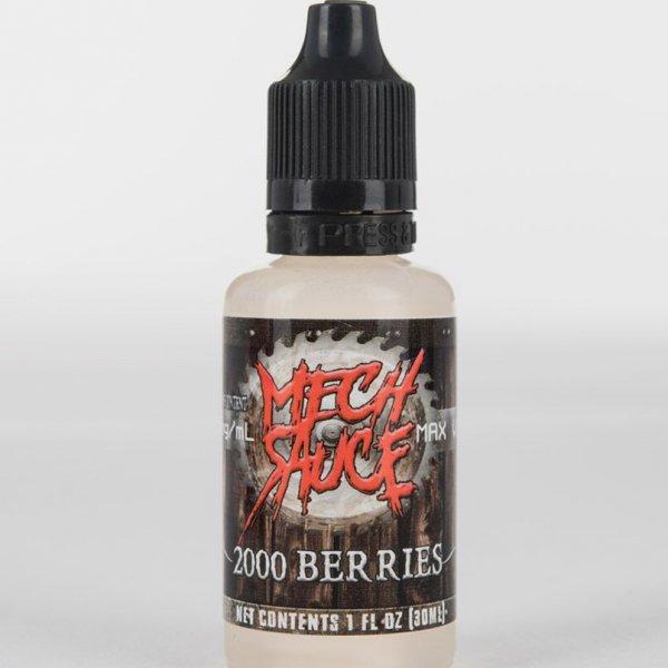 premium super berries flavored e-juice by Mech Sauce