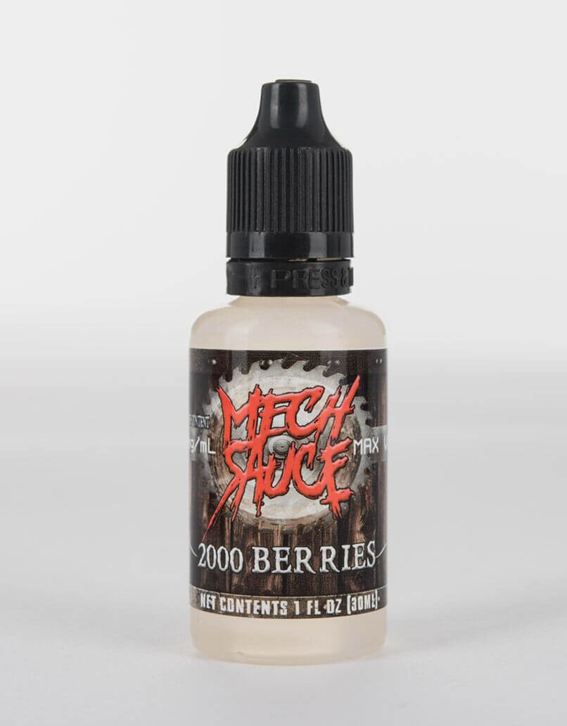 premium super berries flavored e-juice by Mech Sauce