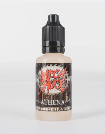 Athena - premium blueberry cotton candy flavored e-juice by Mech Sauce