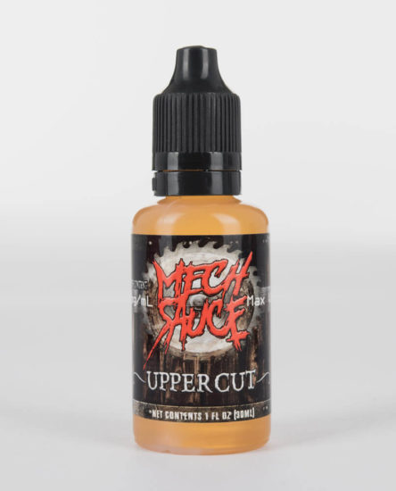 Mech Sauce dragon fruit bavarian cream flavored e-juice